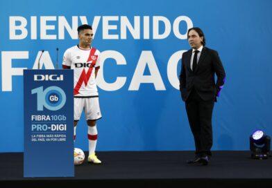 Radamel Falcao define o ousado objetivo do Rayo Vallecano durante apresentação oficial