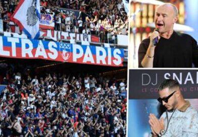 'Who Said I Would' de Phil Collins voltou como música de entrada do PSG após a polêmica do DJ Snake