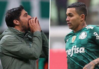 "Substituído, Dudu se rebela por Abel Ferreira: ""todo jogo me leva"""