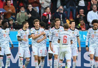 Quatro gols em sete minutos: Bayern desmontou Leverkusen