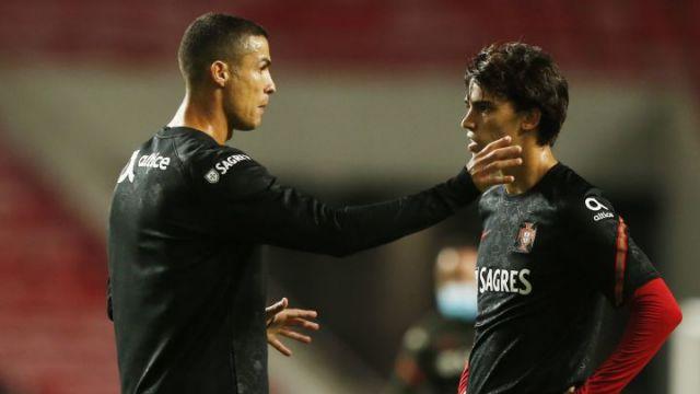 Cristiano Ronaldo e João Felix