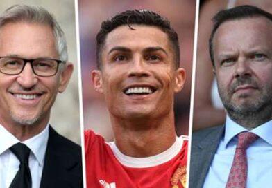 Man Utd assinou Ronaldo no meu quintal!  – Lineker