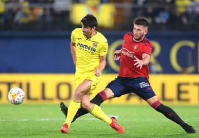 A partida invicta do Villarreal na La Liga terminou com a derrota do Osasuna no último suspiro